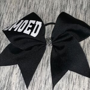 Louisville cheerleading bow